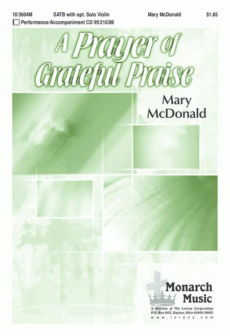 A Prayer of Grateful Praise