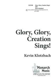 Glory, Glory! Creation Sings!