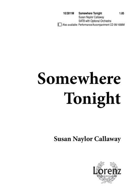 Somewhere, Tonight