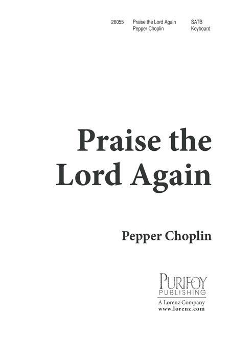 Praise the Lord Again!