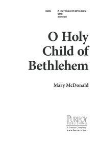 O Holy Child of Bethlehem!