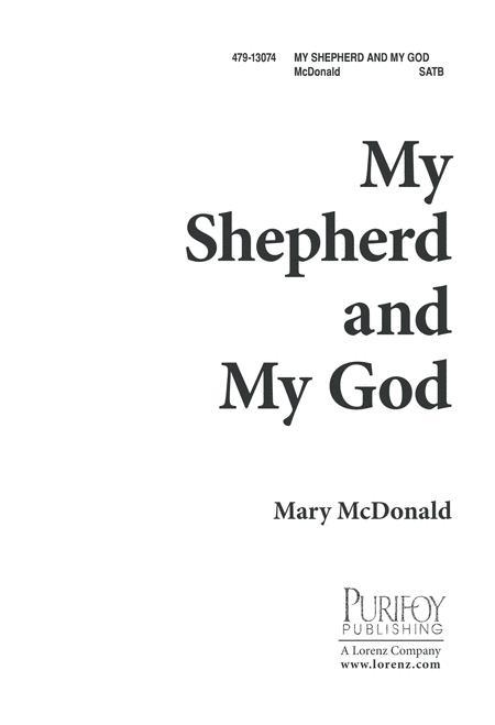 My Shepherd and My God