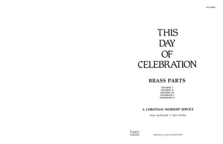 This Day of Celebration - Brass Parts