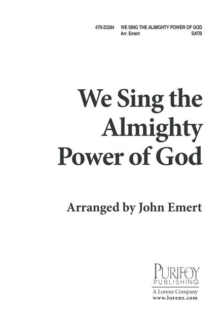 We Sing the Almighty Power of God