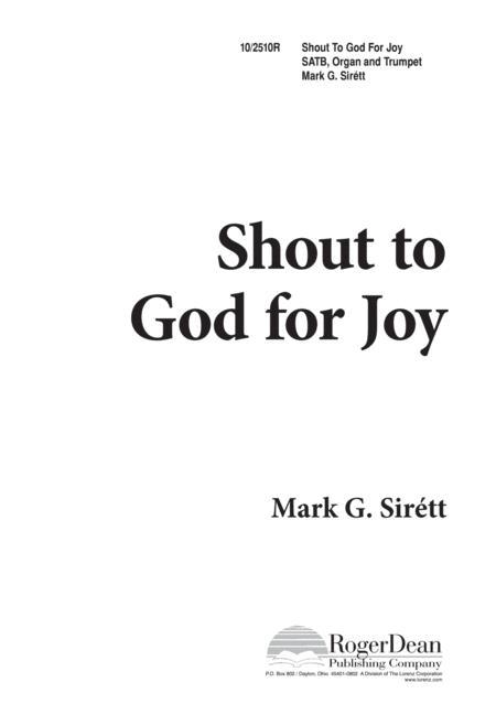 Shout to God for Joy