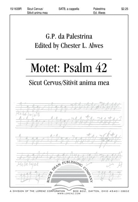 Motet Psalm 42