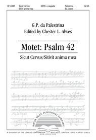 Motet Psalm 42