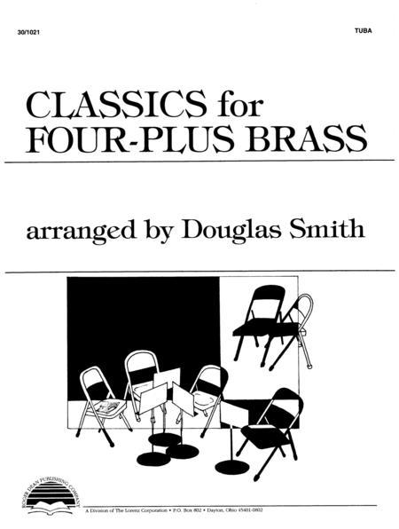 Classics for Four-Plus Brass - Tuba