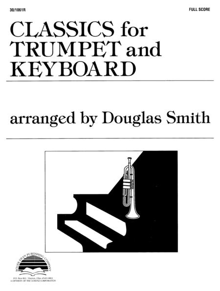 Classics for Trumpet and Keyboard - Full Score