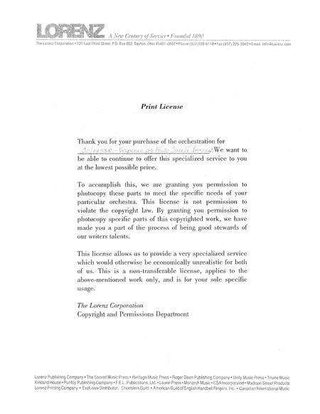 Vesperae Pro Festo Sancti Innocentium - Instrumental Score and Parts