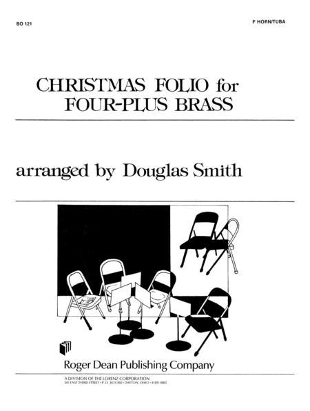 Christmas Folio for Four-Plus Brass - F Horn/Tuba