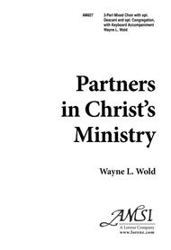 Partners in Christ's Ministry