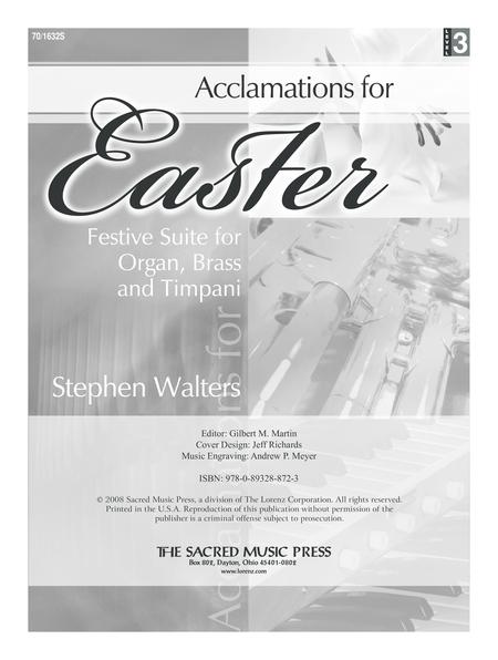Acclamations for Easter