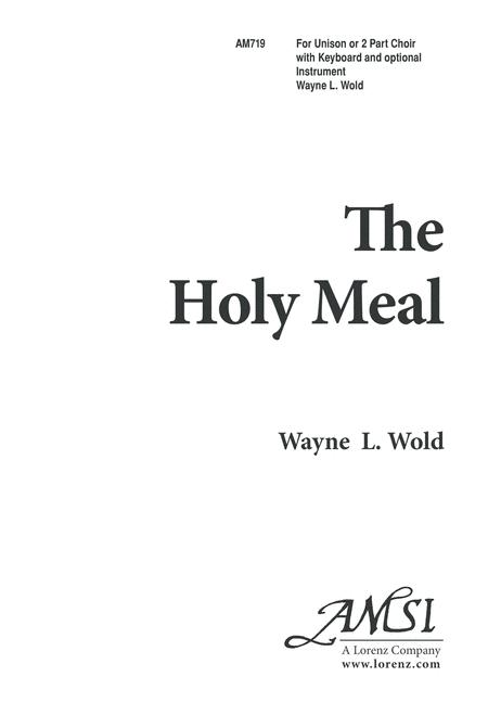 The Holy Meal