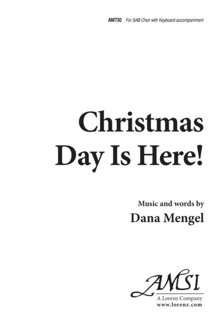 Christmas Day Is Here