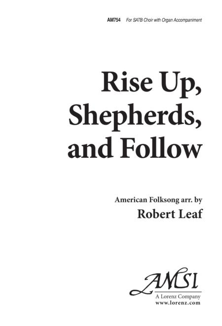 Rise Up, Shepherds and Follow