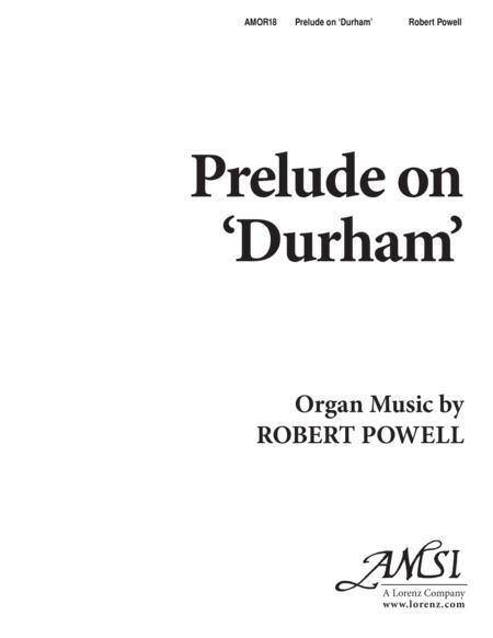 Prelude on 'Durham'
