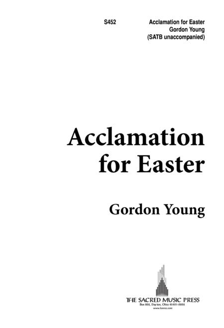Acclamation For Easter