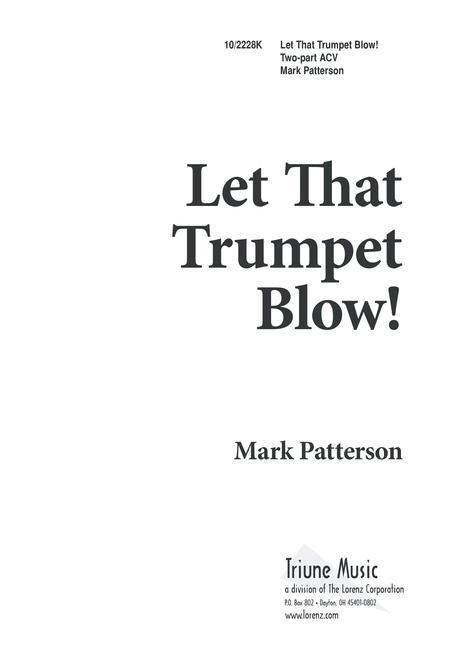 Let That Trumpet Blow