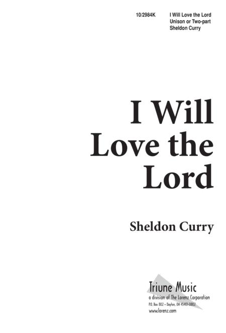 I Will Love the Lord