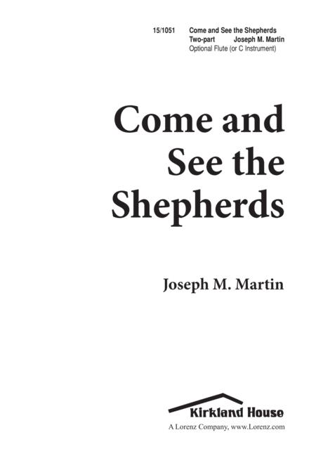 Come and See the Shepherds