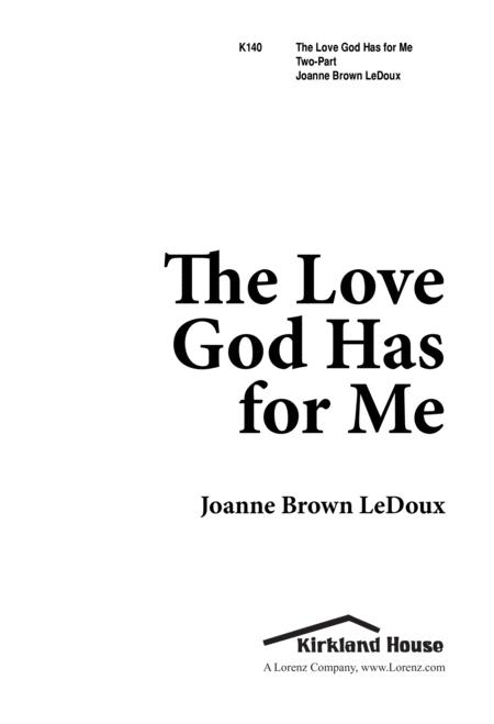 The Love God Has for Me
