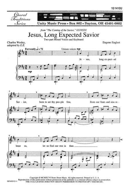 Jesus, Long-Expected Savior