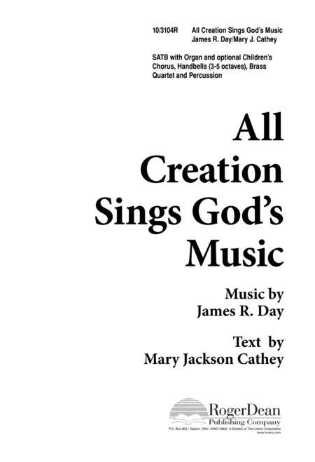 All Creation Sings God's Music