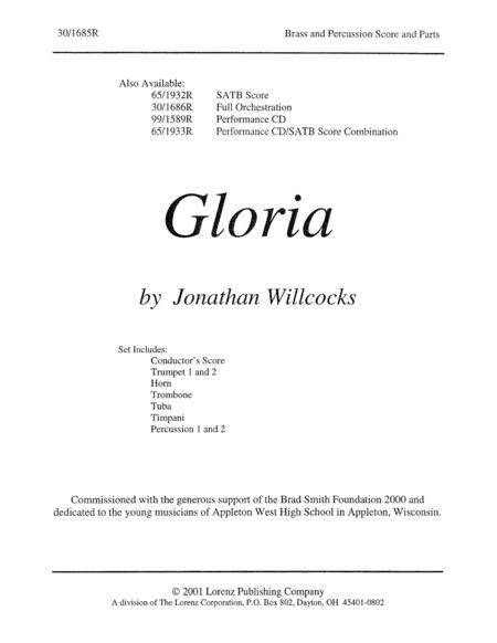 Gloria - Brass/Percussion