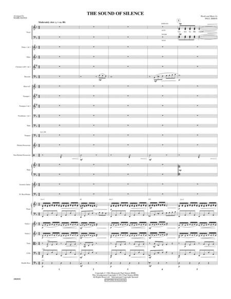 The Sound Of Silence - Score