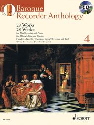 Baroque Recorder Anthology Vol. 4