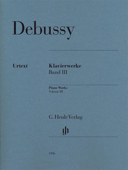 Piano Works Volume III
