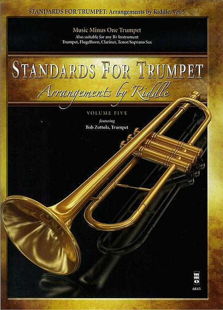 Arrangements by Riddle - Standards for Trumpet, Volume 5