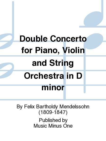 Double Concerto For Piano, Violin And String Orchestra