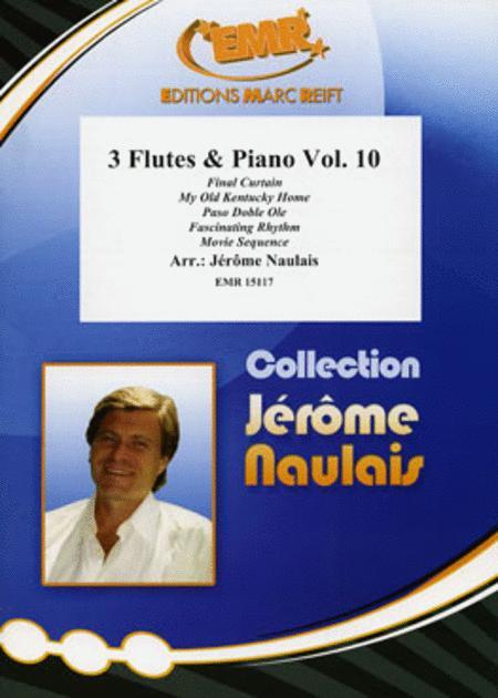3 Flutes & Piano Volume 10
