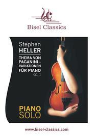 Thema von Paganini, Variationen fur Piano, Op. 1