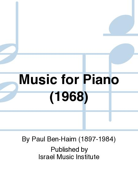 Music for Piano (1967)