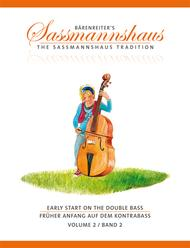 Early Start on the Double Bass, Volume 2 / Fruher Anfang auf dem Kontrabass, Band 2