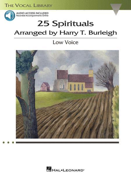 25 Spirituals Arranged by Harry T. Burleigh