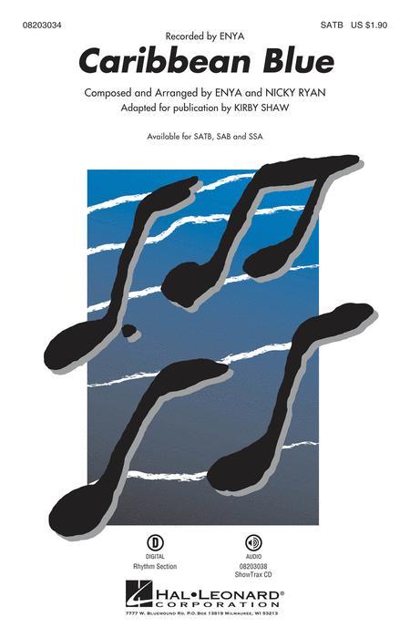Caribbean Blue - ShowTrax CD