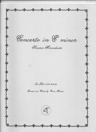 Concerto in E minor