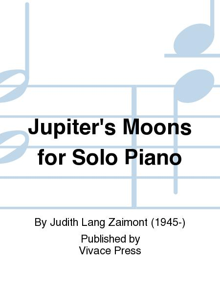 Jupiter's Moons for Solo Piano