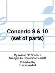 Concerto 9 & 10 (set of parts)