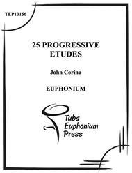 25 Progressive Euphonium Etudes