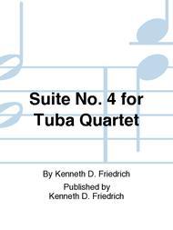 Suite No. 4 for Tuba Quartet