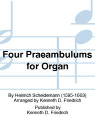Four Praeambulums for Organ