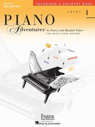 Piano Adventures Level 4 - Technique & Artistry Book