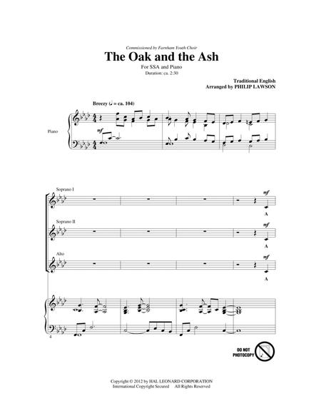 The Oak And The Ash (Love Will Find Out The Way)