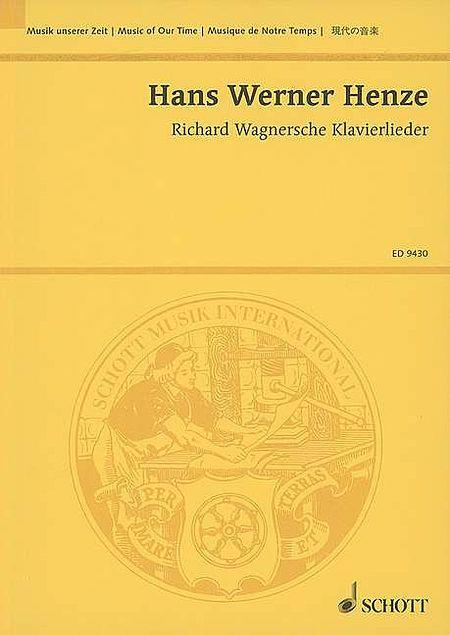 Richard Wagnersche Klavierlieder