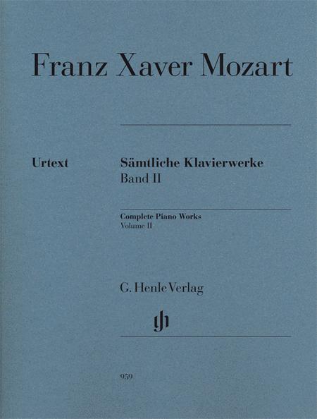 Complete Piano Works Volume II